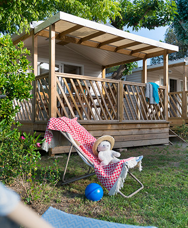 Camping Giens STACARAVAN Loggia