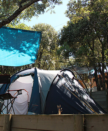 Camping Giens Kampeerplaats: TENT
